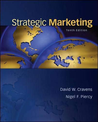 9780078028908: Strategic Marketing