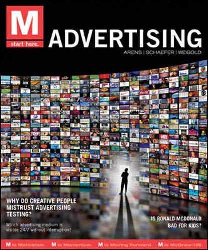 9780078028915: M: Advertising