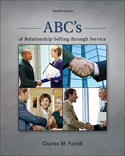 9780078028939: ABC's of Relationship Selling through Service