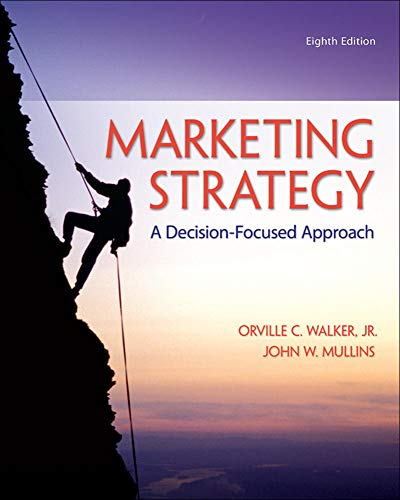 Marketing Strategy A Decision Focused