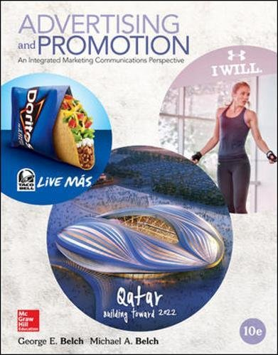 Advertising and Promotion: An Integrated Marketing Communications