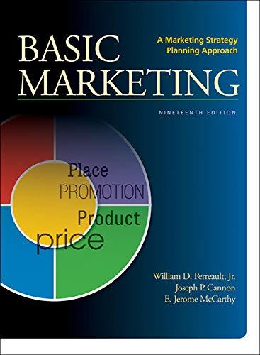 9780078028984: BASIC MARKETING: A Marketing Strategy Planning Approach