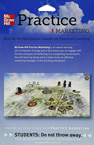 9780078029035: Practice Marketing Simulation 1 Semester Access Card