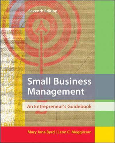 9780078029097: Small Business Management: An Entrepreneur's Guidebook (Irwin Management)
