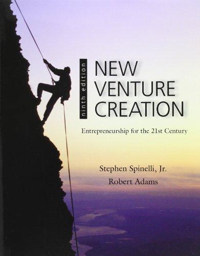9780078029103: New Venture Creation: Entrepreneurship for the 21st Century