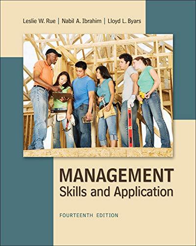 9780078029110: Management: Skills & Application