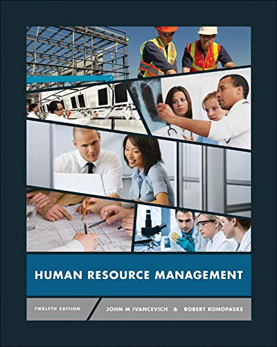 9780078029127: Human Resource Management (Irwin Management)