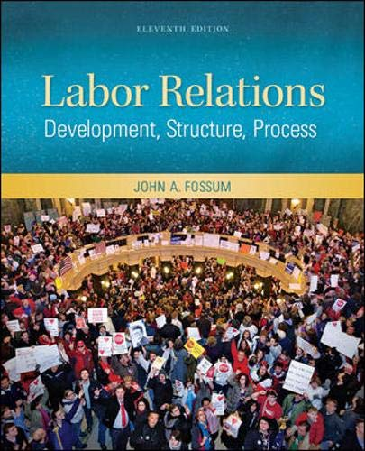 9780078029158: Labor Relations