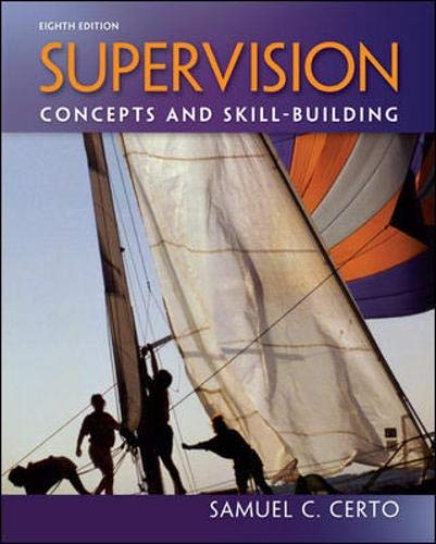 9780078029189: Supervision: Concepts and Skill-Building