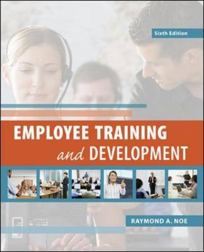 9780078029219: Employee Training & Development