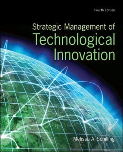 9780078029233: Strategic Management of Technological Innovation