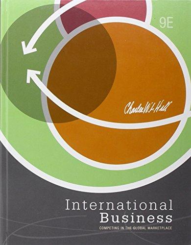 9780078029240: International Business