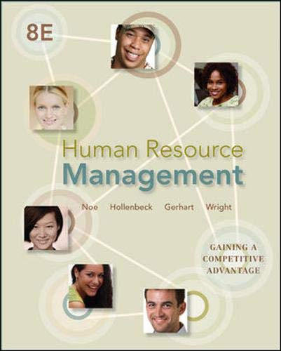 9780078029257: Human Resource Management: Gaining a Competitive Advantage, 8th Edition