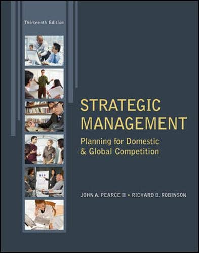 9780078029295: Strategic Management