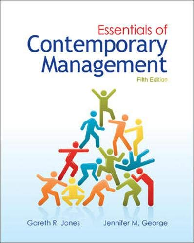9780078029349: Essentials of Contemporary Management