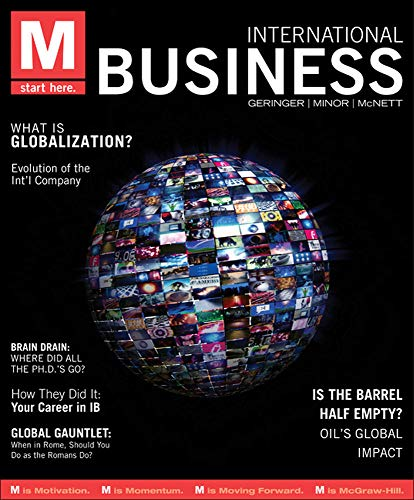 9780078029370: M: International Business (M Series)