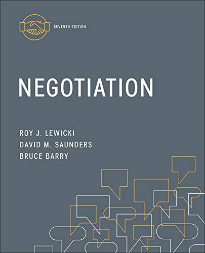 9780078029448: Negotiation (Irwin Management)