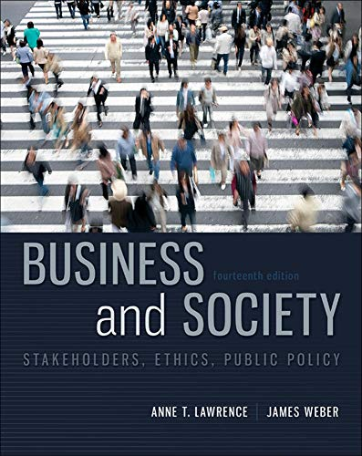 9780078029479: Business and Society: Stakeholders, Ethics, Public Policy, 14th Edition (Irwin Management)