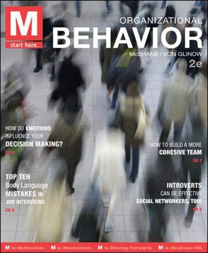 9780078029516: M: Organizational Behavior