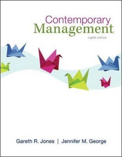 9780078029530: Contemporary Management