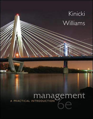 Management A Practical Introduction: Kinicki, Angelo