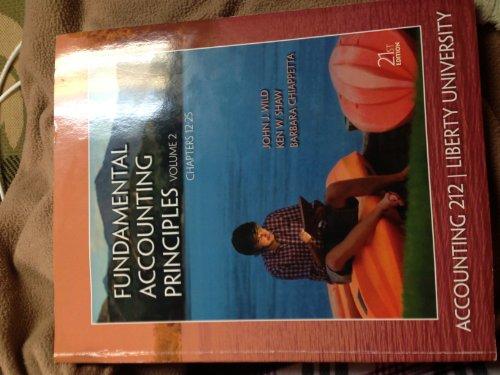 Fundamental Accounting Principles (Liberty University) (Paperback): John J. Wild