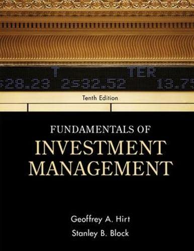 9780078034626: Fundamentals of Investment Management (Mcgraw-Hill/Irwin Series in Finance, Insurance and Real Estate)