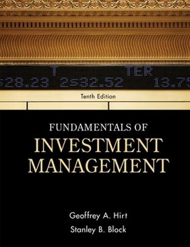 9780078034626: Fundamentals of Investment Management (McGraw-Hill/Irwin Series in Finance, Insurance and Real Esta)