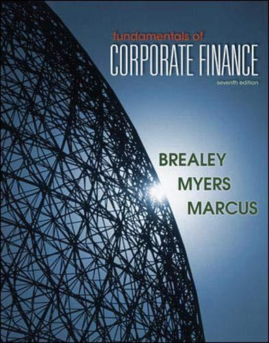 9780078034640: Fundamentals of Corporate Finance