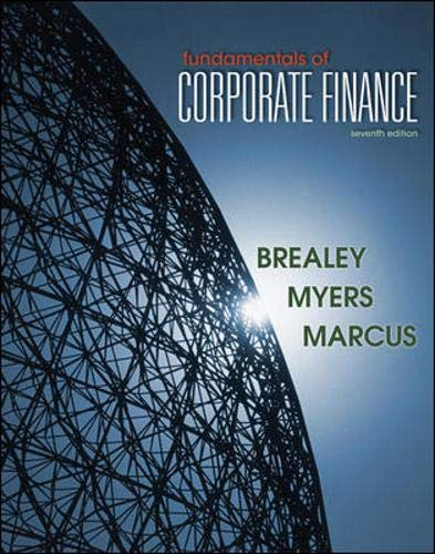 Fundamentals of Corporate Finance: Richard A. Brealey;
