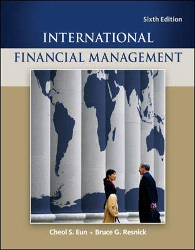 9780078034657: International Financial Management (Mcgraw-Hill/Irwin Series in Finance, Insurance, and Real Estate)