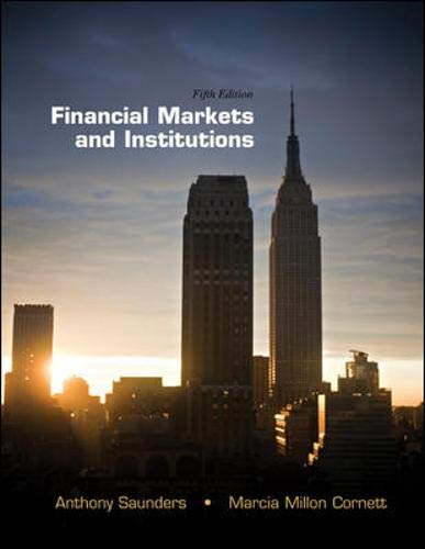 9780078034664: Financial Markets and Institutions (The McGraw-Hill/Irwin Series in Finance, Insurance and Real Estate)