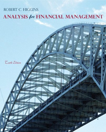 9780078034688: Analysis for Financial Management (Mcgraw-Hill/Irwin Series in Finance, Insurance, and Real Estate)