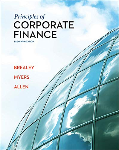 Principles of Corporate Finance (English) 11th Edition: Richard A. Brealey