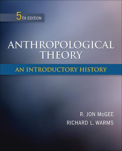 9780078034886: Anthropological Theory: An Introductory History