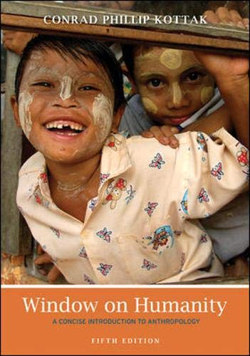 9780078034893: Window on Humanity: A Concise Introduction to Anthropology