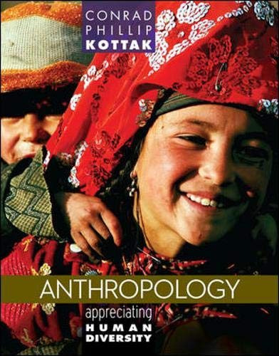 9780078035012: Anthropology: Appreciating Human Diversity