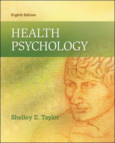9780078035197: Health Psychology