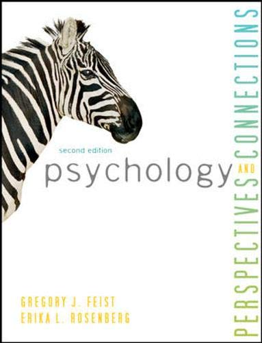 9780078035203: Psychology: Perspectives and Connections, 2nd Edition