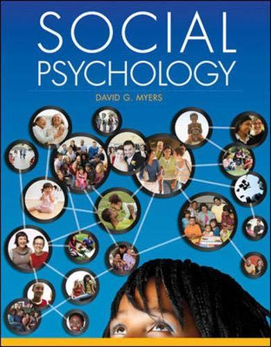 Social Psychology: Myers, David