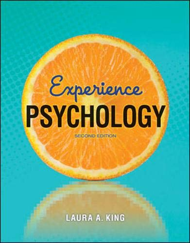 Experience Psychology: Laura King