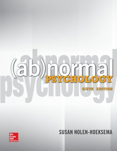 9780078035388: Abnormal Psychology