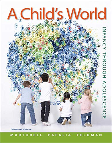 9780078035432: A Child's World: Infancy Through Adolescence - Standalone book (B&B Psychology)