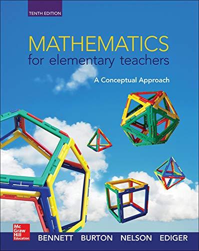 9780078035654: Mathematics for Elementary Teachers: A Conceptual Approach