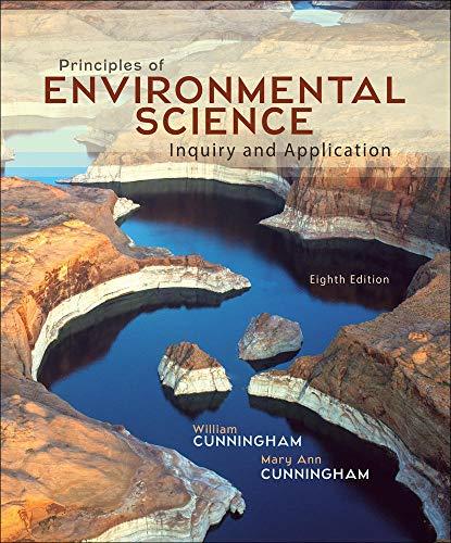 Principles of Environmental Science: Cunningham Professor, Mary