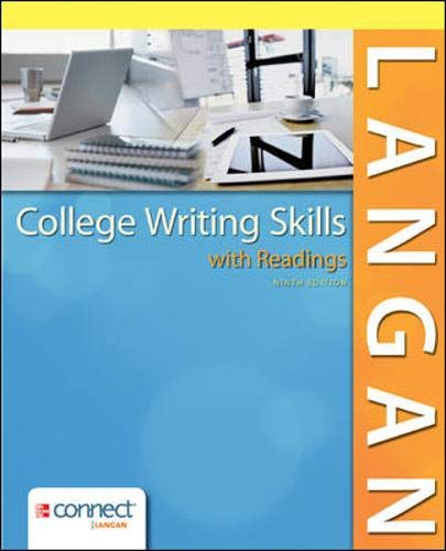 9780078036279: College Writing Skills with Readings