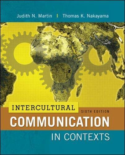 9780078036774: Intercultural Communication in Contexts