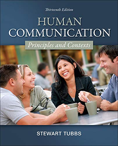 9780078036781: Human Communication: Principles and Contexts