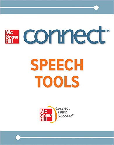 Connect Speech Tools 1 Semester Access Card: McGraw-Hill, Higher Education