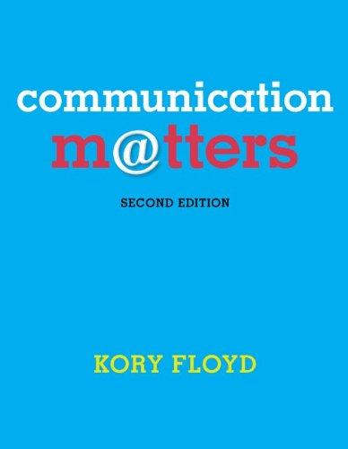 9780078036866: Communication Matters - Standalone book